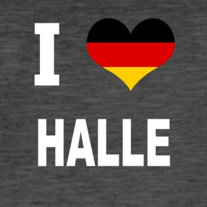 I Love Germany HALLE - Vintage-T-skjorte for menn