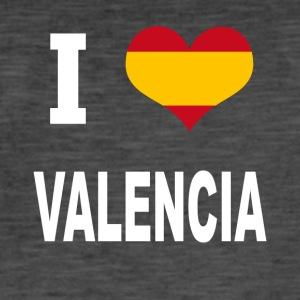 I Love Spain VALENCIA - T-shirt vintage Homme