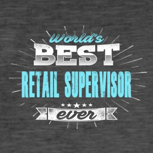 World's Best Retail Manager - Men's Vintage T-Shirt