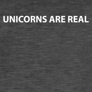 enhjørninger real Unicorns unicorn Koenigin - Vintage-T-skjorte for menn