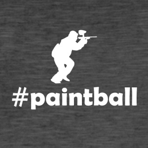 Paintball - T-shirt vintage Homme