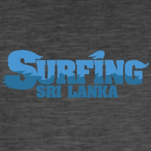 SRI LANKA Surfing Country Water - Men's Vintage T-Shirt