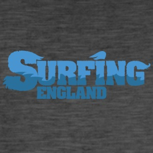ENGLAND Surfing Country Water - Men's Vintage T-Shirt
