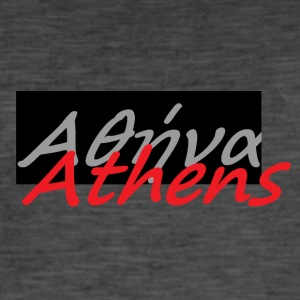 Athens in greek 2 - Men's Vintage T-Shirt