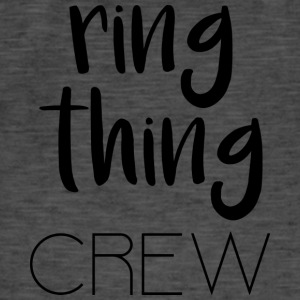 Ring Thing Crew - Vintage-T-skjorte for menn