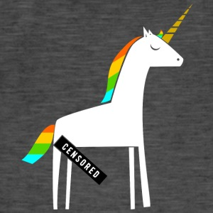 Dirty Unicorn / Funny / Provoserende - Vintage-T-skjorte for menn
