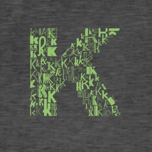 Font Fashion K - T-shirt vintage Homme