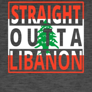 Straight Outta LIBAN - T-shirt vintage Homme