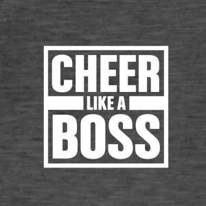 Cheer ligesom Boss - Cheerleading - Herre vintage T-shirt