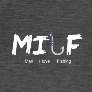 Zweideutiges Shirt: Milf (mother i'd like to fuck) - Männer Vintage T-Shirt