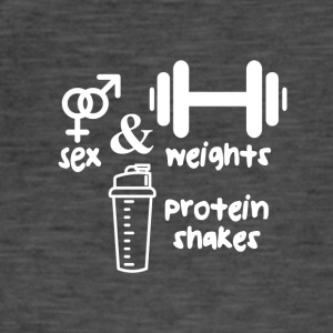 Reim: Sex, weights and protein shakes - Training - Männer Vintage T-Shirt