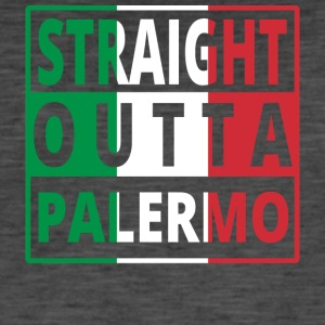 Straight Outta Italia Italie Palerme - T-shirt vintage Homme