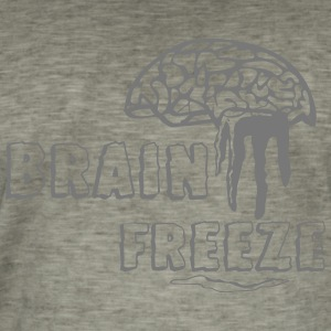 Brain Freeze - T-shirt vintage Homme