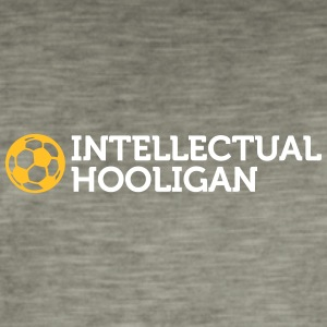 Intellektuel Hooligan - Herre vintage T-shirt