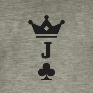Jack of Clubs - Männer Vintage T-Shirt