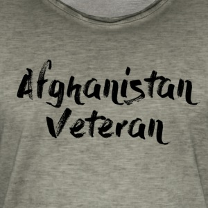 Afghanistan Veteran Big - Vintage-T-skjorte for menn