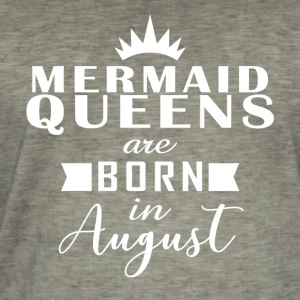 Mermaid Queens August - Men's Vintage T-Shirt