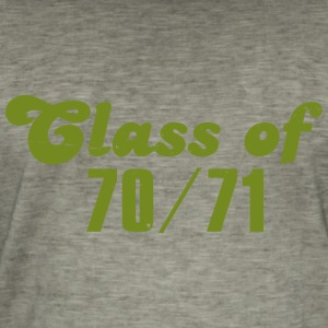 Class of 70 71 - Men's Vintage T-Shirt