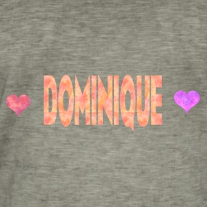 Dominique - T-shirt vintage Homme