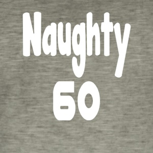 Naughty 60 - Men's Vintage T-Shirt