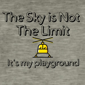 The sky is not the limit - Men's Vintage T-Shirt
