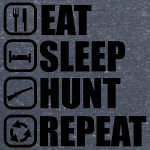 Eat sleep hunt - Hunter - Hunting - Men's Organic Sweatshirt by Stanley & Stella
