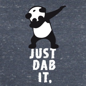 dab just panda dabbing dub dance cool LOL funny - Men's Organic Sweatshirt by Stanley & Stella