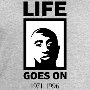 Life goes on - Men's Organic Sweatshirt by Stanley & Stella