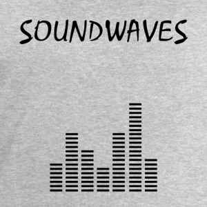 Soundwaves - spectrum - Men's Organic Sweatshirt by Stanley & Stella