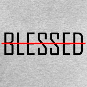 BLESSED - Men's Organic Sweatshirt by Stanley & Stella