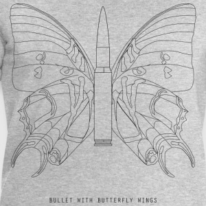 Bullet with butterfly wings - Men's Organic Sweatshirt by Stanley & Stella