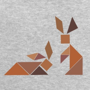Tangram Hase old hare for boss & good colleagues - Men's Sweatshirt by Stanley & Stella