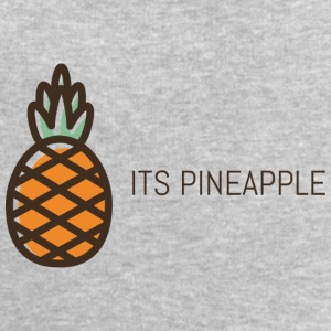 its pineapple - Men's Organic Sweatshirt by Stanley & Stella