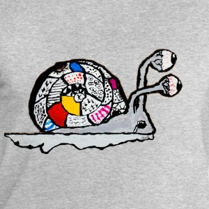 The snail of the end of the childhood - Men's Organic Sweatshirt by Stanley & Stella