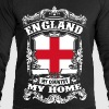 England - My country - My home - Men's Organic Sweatshirt by Stanley & Stella