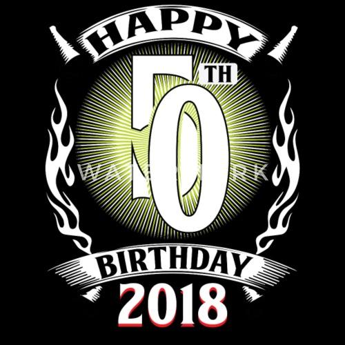 50 Anni Del 50 Anniversario Di Buon Compleanno Felpa Ecologica