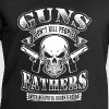 Guns dont kill People Fathers beautiful Daughters - Stanley & Stellan miesten luomucollegepaita