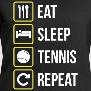 Eat Sleep Tennis Repeat - Felpa ecologica da uomo di Stanley & Stella