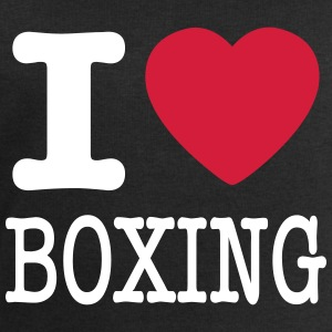 I love boxing / I love boxes - Men's Sweatshirt by Stanley & Stella
