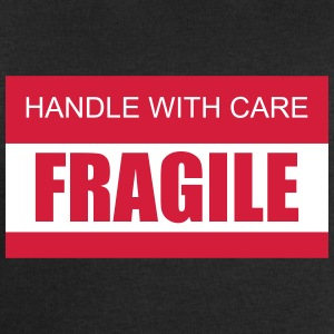 FRAGILE Handle with care 2c - Men's Organic Sweatshirt by Stanley & Stella