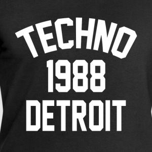 Techno 1988 Detroit - Sweat-shirt bio Stanley & Stella Homme