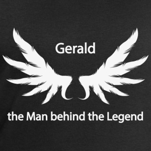 Gerald the Man behind the Legend - Männer Bio-Sweatshirt von Stanley & Stella