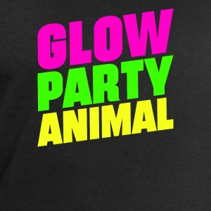Glow Party Animals Bright neon colors fun - Men's Organic Sweatshirt by Stanley & Stella