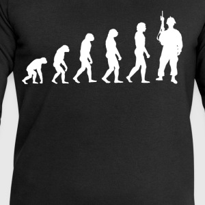 Evolution Soldier - Soldiers T-Shirt! - Men's Sweatshirt by Stanley & Stella