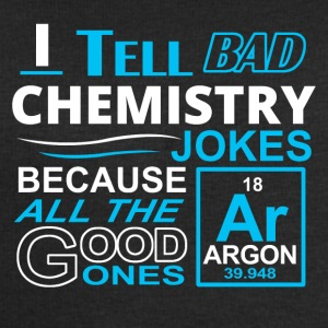 I tell bad chemistry jokes - Men's Organic Sweatshirt by Stanley & Stella