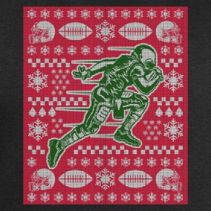 Football Ugly Christmas Sweater Funny Footballer - Men's Organic Sweatshirt by Stanley & Stella