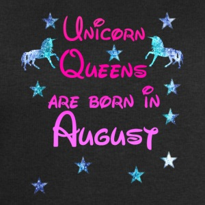 Unicorn Queens born August - Männer Sweatshirt von Stanley & Stella