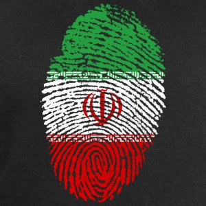 Fingerprint i love roots iran - Men's Organic Sweatshirt by Stanley & Stella