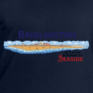 Bridlington Seaside - Men's Organic Sweatshirt by Stanley & Stella