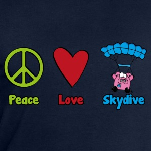 Peace Love Skydive - Sweat-shirt Homme Stanley & Stella